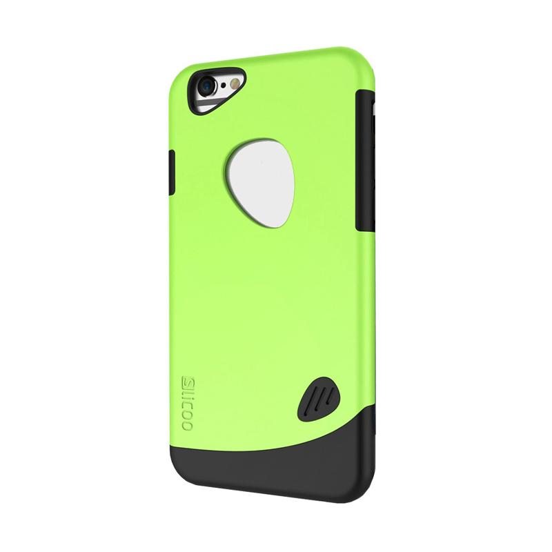 Slicoo Frosted Back Side Hardcase Casing for Apple Iphone 6 PLUS - Green
