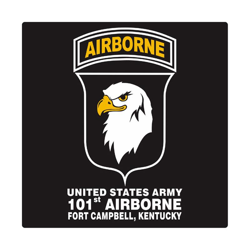 Kyle United States Army 101st Airborne Fort Campbell Cutting Sticker
