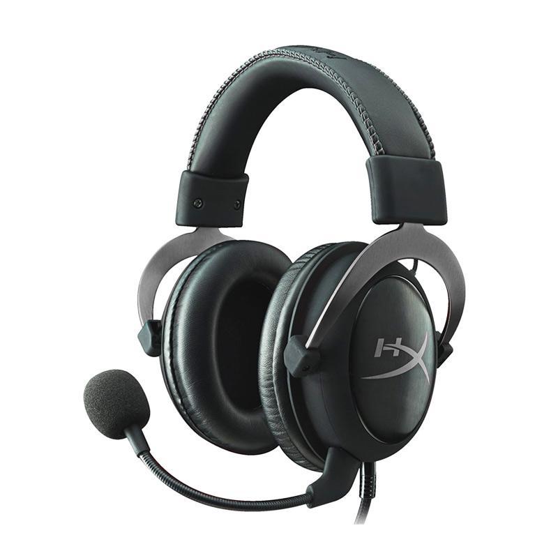 harga Kingston HyperX Cloud II Gaming Headset - Gun Metal Blibli.com