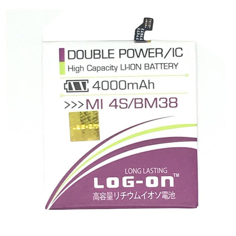 Log On Double Power & IC Batery for Xiaomi Mi4S [4000 mAh/ Garansi 6 Bulan]