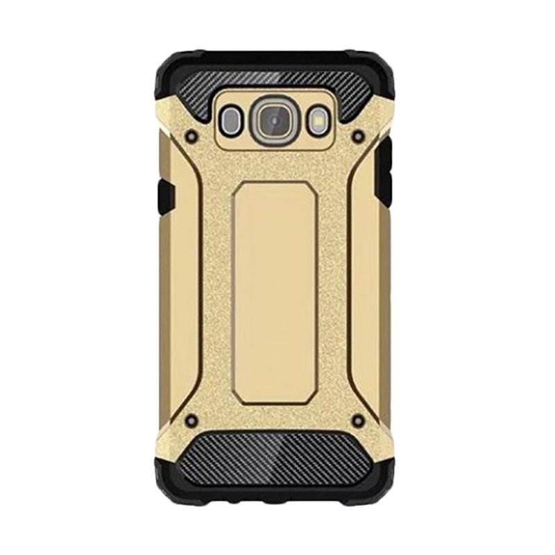 OEM Transformers Iron Robot Hardcase Casing for Samsung J1 Ace - Gold