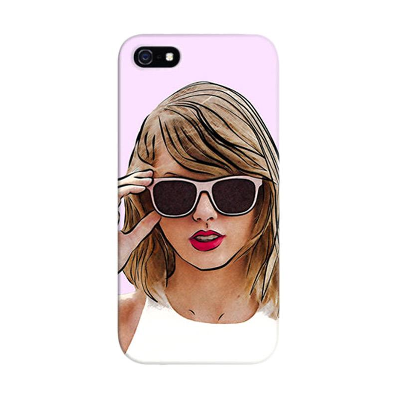 Indocustomcase Taylor Swift Custom Hardcase Casing for Apple iPhone 5/5S/SE