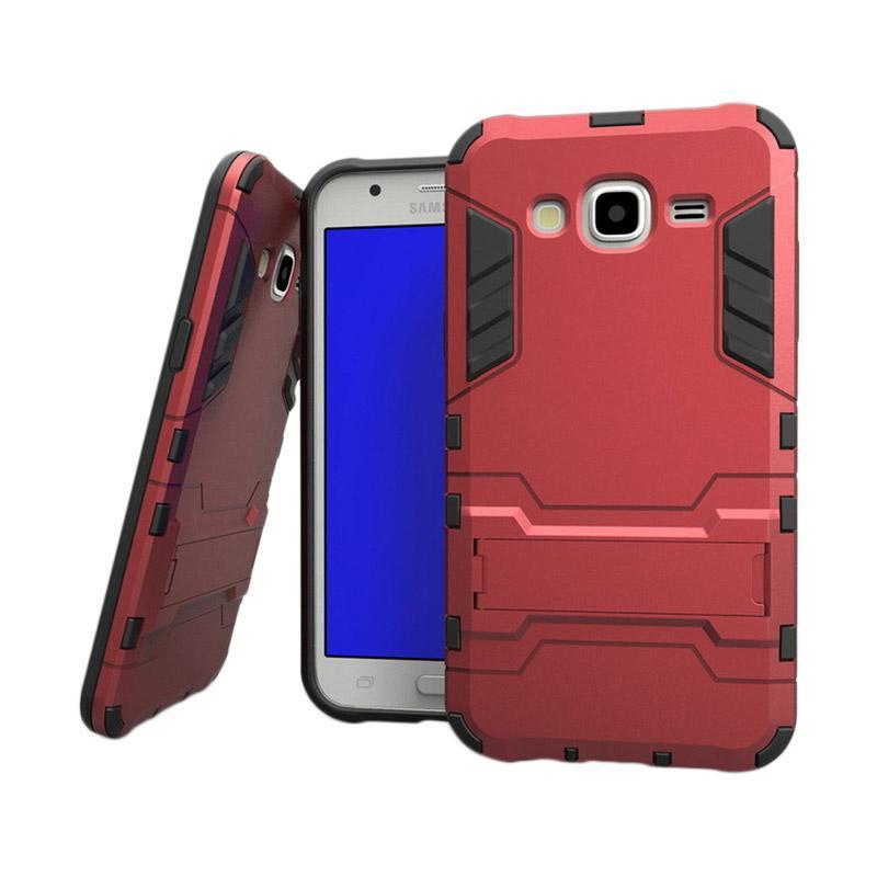 OEM Transformer Robot Iron Man Casing for Samsung Galaxy J2 - Merah
