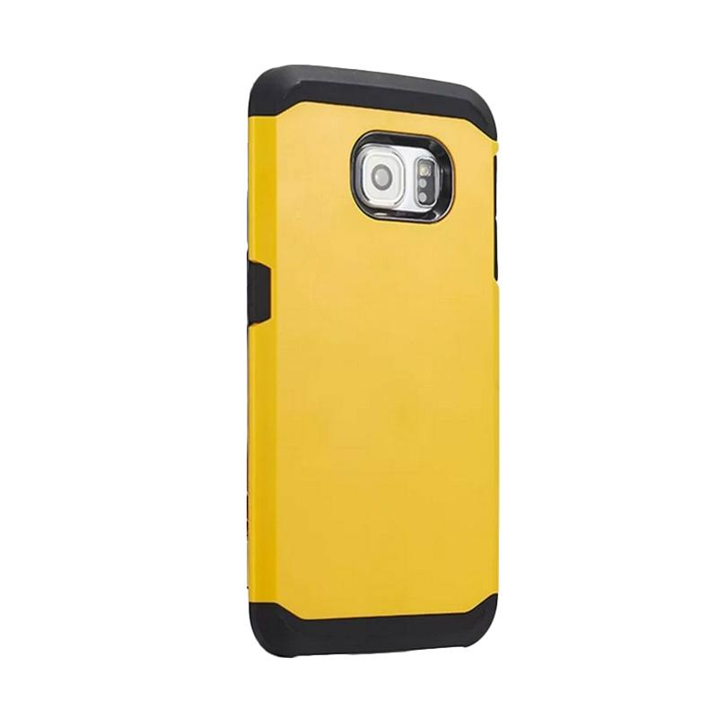 Spigen SGP Slim Armor Casing for Samsung Galaxy S6 Edge - Kuning