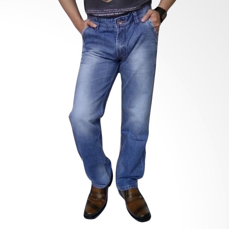 New Lion's Impor Celana Jeans Pria - Blue