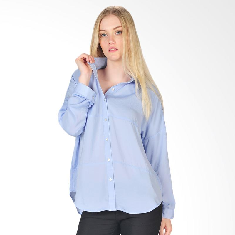 SJO & Simpaply Vertishort Women's Shirt - Light Blue