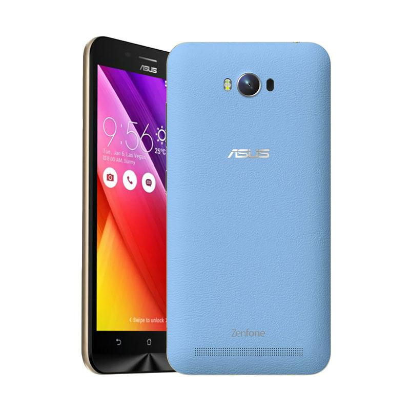 Ultrathin Aircase Casing for Asus Zenmax ZC550KL - Blue Clear [Best Seller]