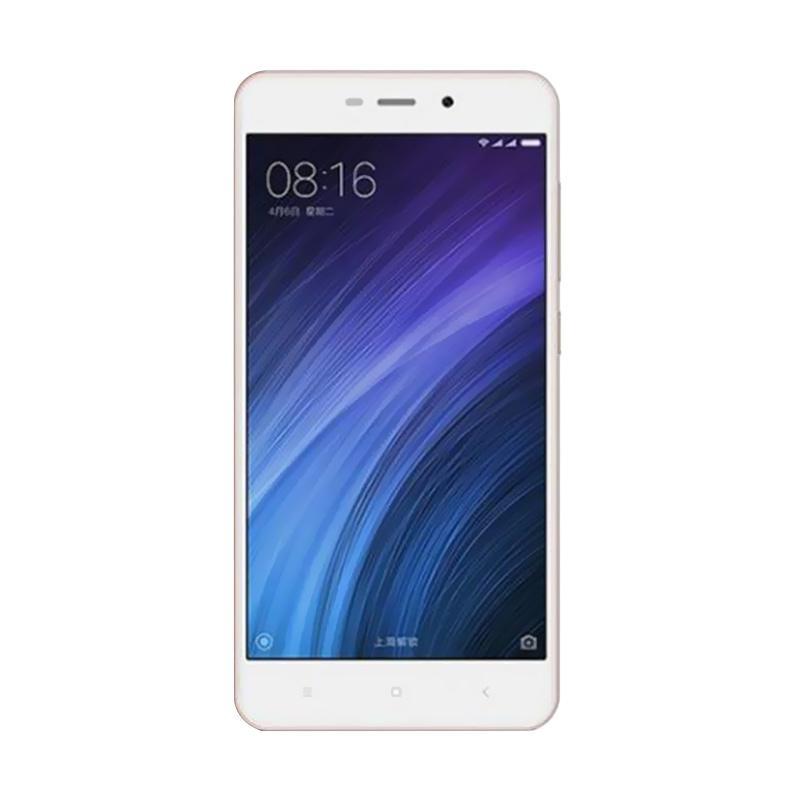 Xiaomi Redmi 4A Smartphone - Rose Gold [16GB/ 2GB/ Garansi Distributor]
