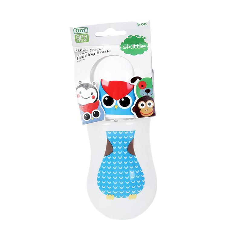 Chloe Babyshop Skittle Owl S195 Botol Susu - Blue [8 oz/240 mL]