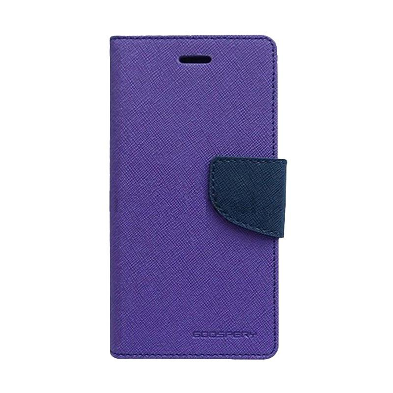 Mercury Fancy Diary Casing for Xiaomi Redmi 2 - Ungu Biru laut