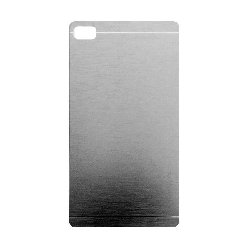 Motomo Metal Backcase Hardcase Casing for Sony Xperia C4 - Silver