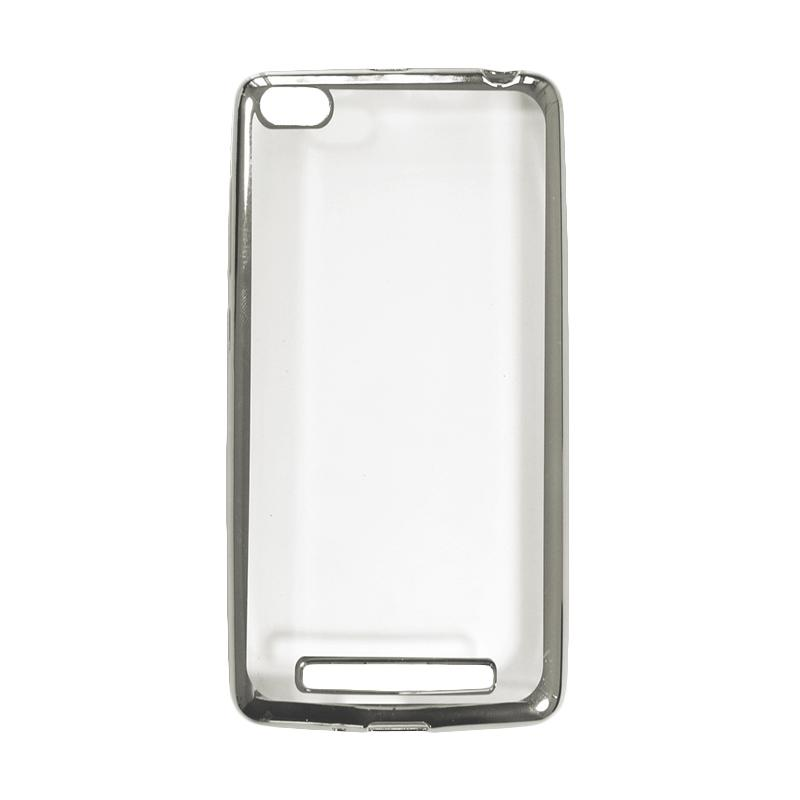 OEM Shining Chrome Softcase Casing for Xiaomi Mi5s or Mi 5S 4G - Silver