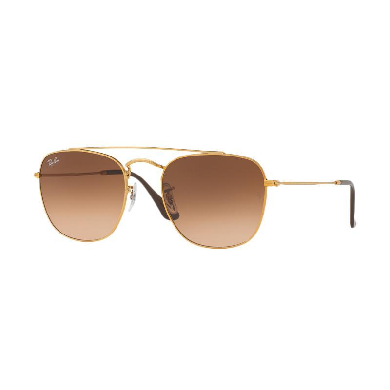 Ray-Ban RB3557-9001A5 Pink Gradient Brown Sunglass - Light Bronze [Size 54]