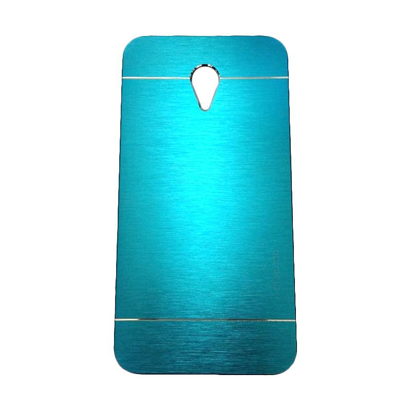 Motomo Metal Hardcase Backcase Casing for Meizu M2 Note - Sky Blue