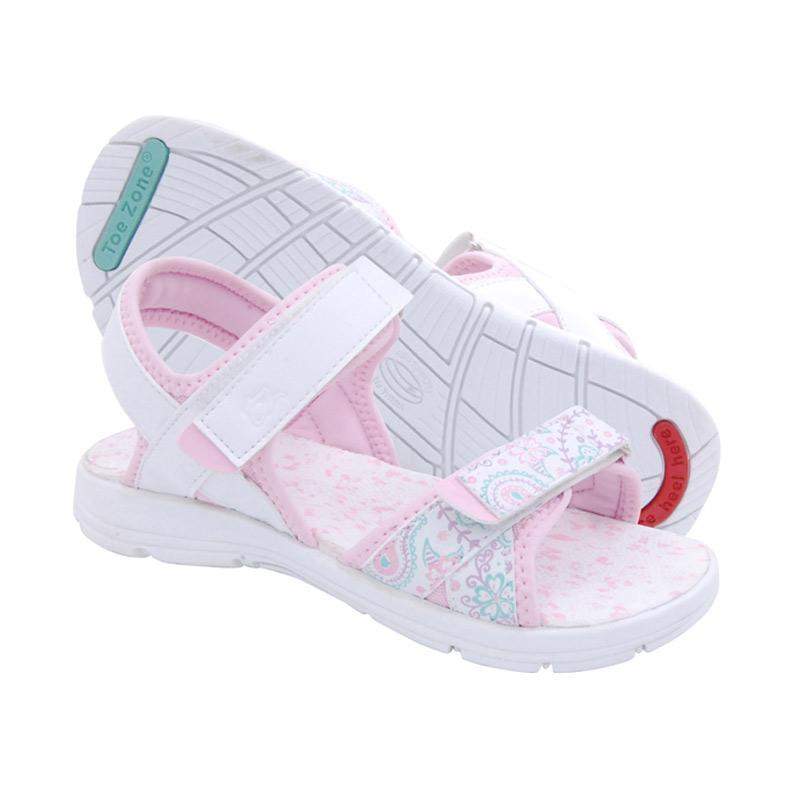 Toezone Kids Curtis Yt Sepatu Sandal Anak -  White Pink 2