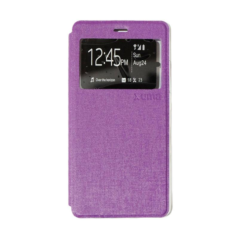 Enigma Flipshell Flipcase Flip Cover Casing for ZTE Blade A711 - Purple