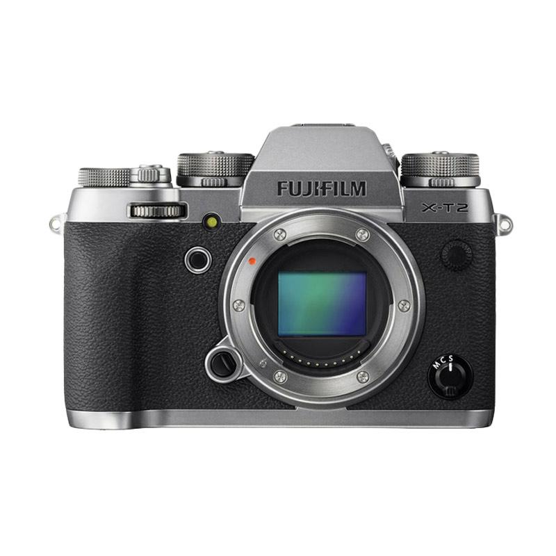 Fujifilm X-T2 Graphite Kamera Mirrorless -Silver [Body Only]