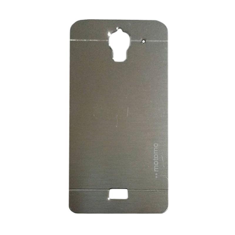 Motomo Metal Backcase Hardcase Casing for Huawei Y3/ Y3C/ Y360 - Silver