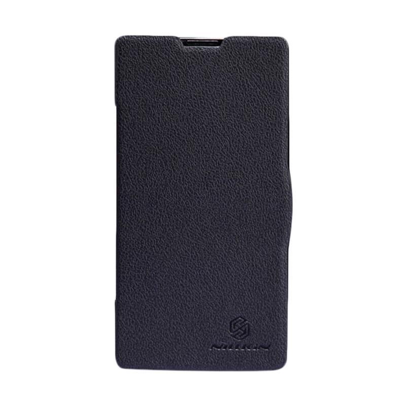 Nillkin Fresh Original Flip Cover Casing for Xiaomi Redmi - Black