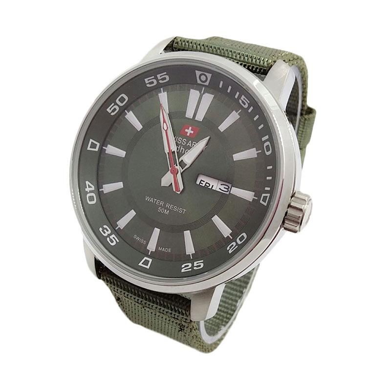 Swiss Army SA3095SG Sporty Strap Canvas Jam Tangan Pria