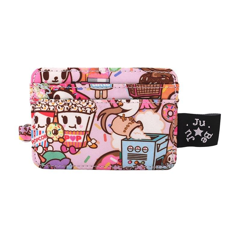 Jujube Be Charged Donutella's Sweet Shop Woman Wallet - Nila Pink