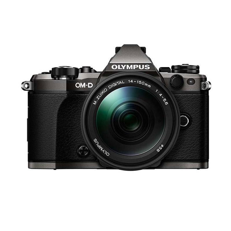 harga Olympus OM-D E-M5 Mark II Kit 14-150mm f/4.0-5.6 II Kamera Mirrorless - Black Blibli.com