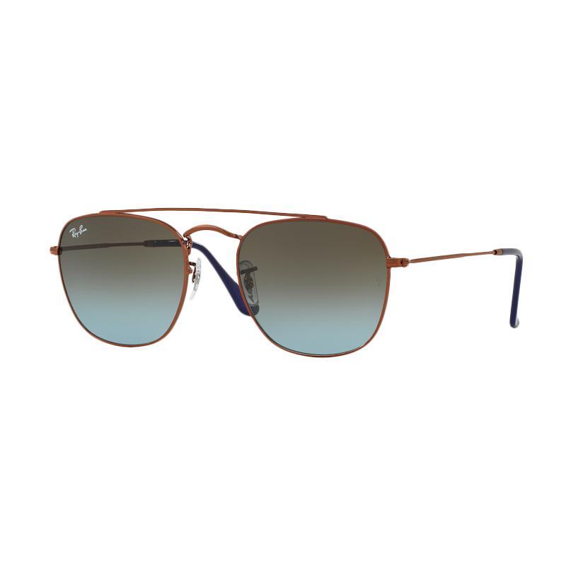 Ray-Ban Rb3557 Blue Gradient Brown 900396 sunglasses - Dark Bronze [Size 54]
