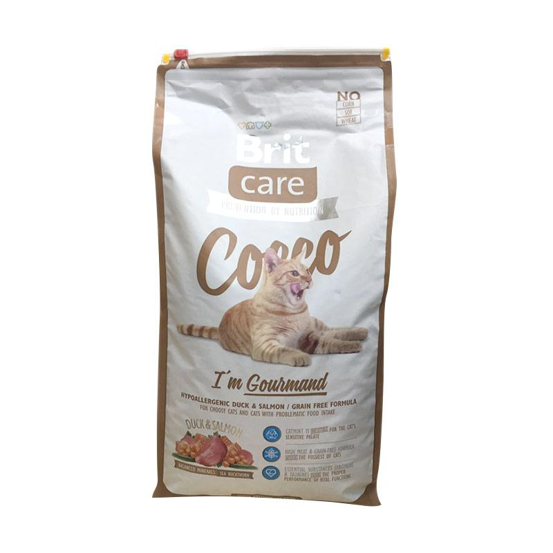 Brit Care Cocco I'm Gourmand Super Premium Cat Food Makanan Kucing [7 kg]