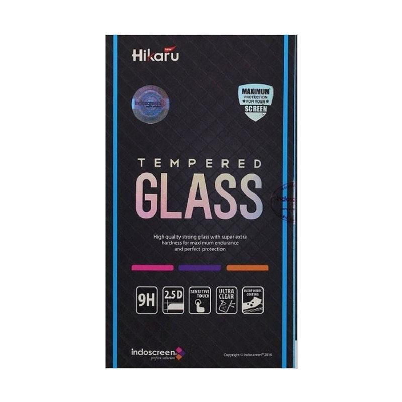 Hikaru Tempered Glass Screen Protector for iPhone 7 Plus - White [Full Cover/Fullset]
