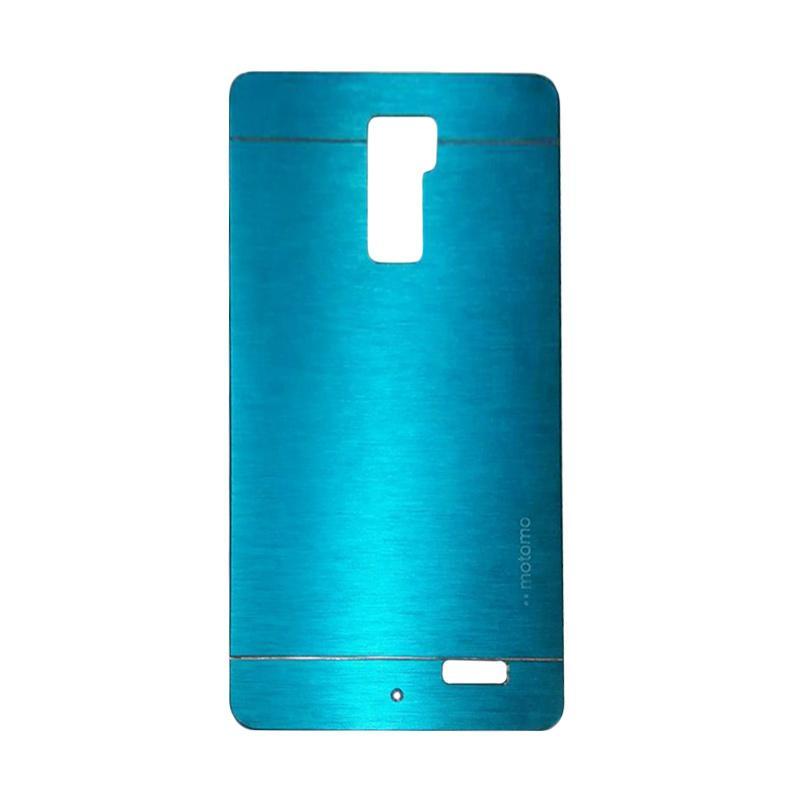 Motomo Metal Hardcase Backcase Casing for OPPO R7 Plus - Sky Blue
