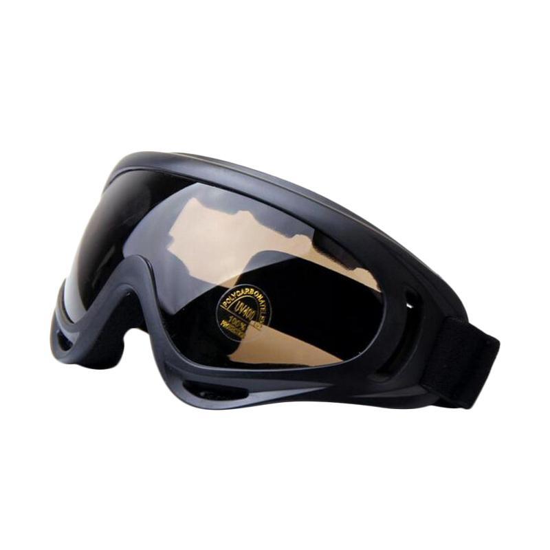 harga Ormano Kacamata Safety Airsoft Goggle Paintball Glasses - Coklat Blibli.com