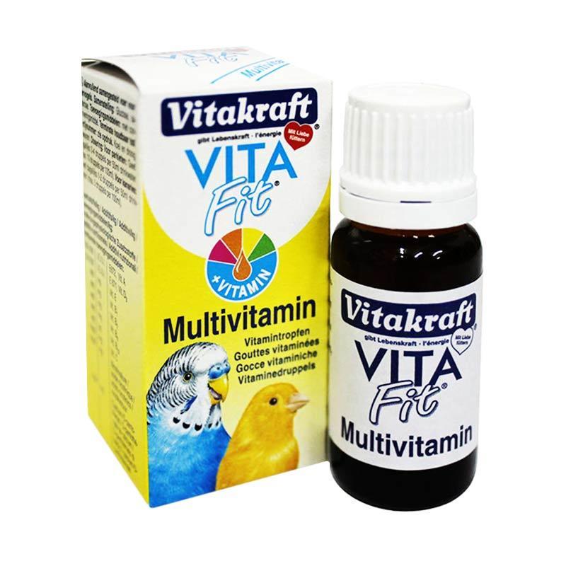 Vitakraft Vita Fit Multivitamin for All Kinds of Birds [10 mL]