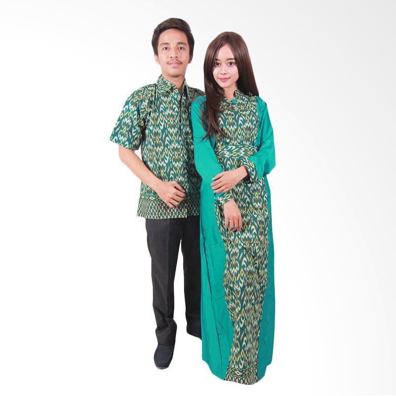 harga Batik Putri Ayu Solo Sarimbit SRG108 Batik Couple - Hijau Blibli.com