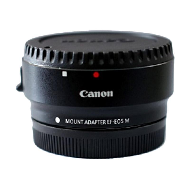 Canon EF-EOS M Mount Adapter Lensa - Hitam