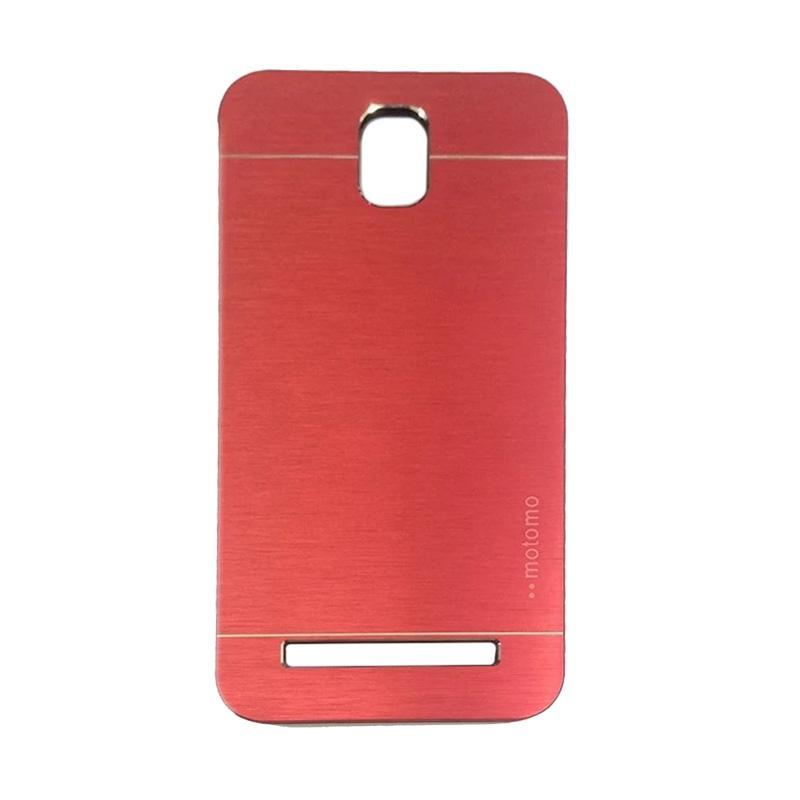 Motomo Metal Hardcase Backcase Casing for Asus Zenfone C ZC451CG - Red