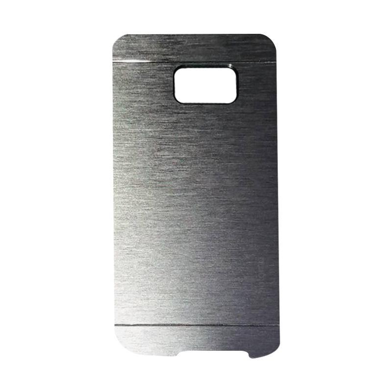 Motomo Metal Hardcase Casing for Samsung Galaxy S7 Edge - Silver