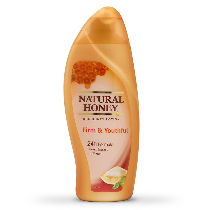 Natural Honey Firm & Youthful Hand and Body Lotion [200 mL/2 Pcs]