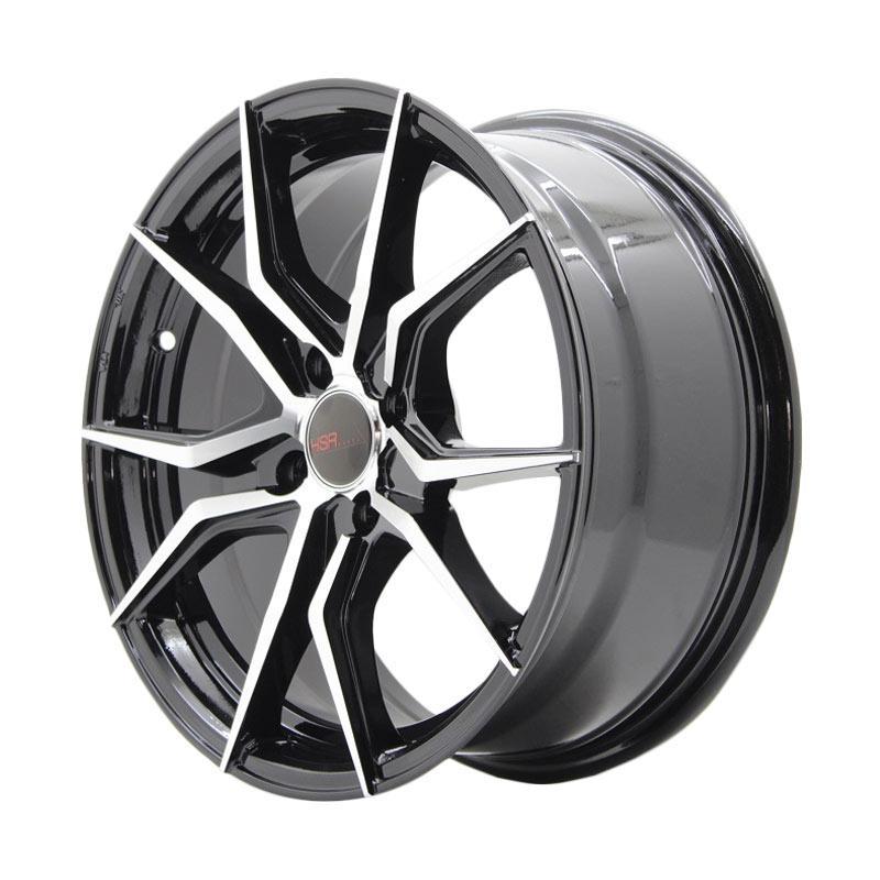 HSR Wheel Vendetta JD5270 Ring 15X65 4X100 ET38 Black Machine Face
