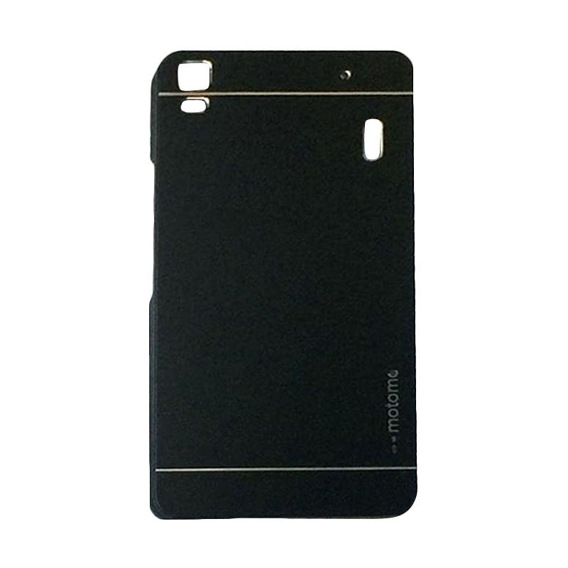 harga Motomo Metal Hardcase Backcase Casing for Lenovo A7000 or K3 Note - Black Blibli.