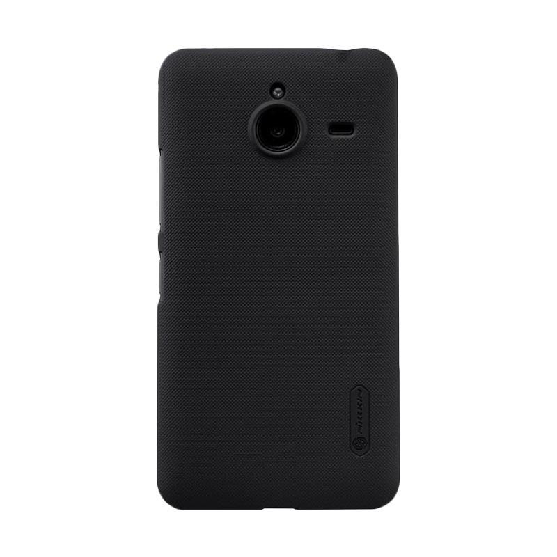 harga Nillkin Frosted Hardcase Casing for Microsoft Lumia 640XL - Hitam Blibli.com