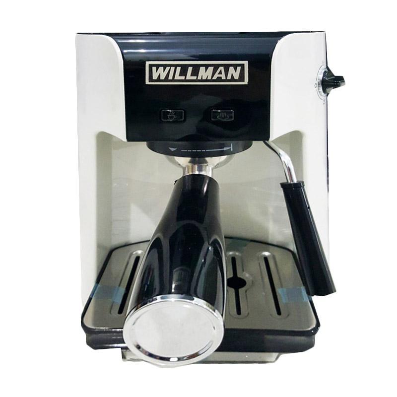Willman Semi Auto Coffee Maker - 9288582 , 15449843 , 337_15449843 , 2000000 , Willman-Semi-Auto-Coffee-Maker-337_15449843 , blibli.com , Willman Semi Auto Coffee Maker