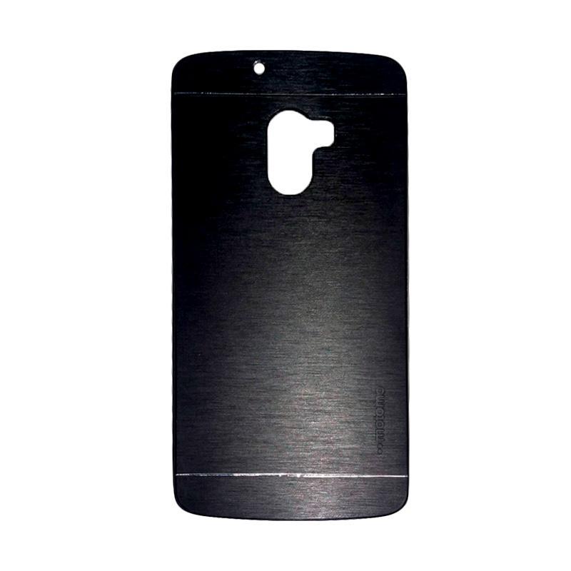 Motomo Metal Hardcase Backcase Casing for Lenovo A7010 or K4 Note - Black