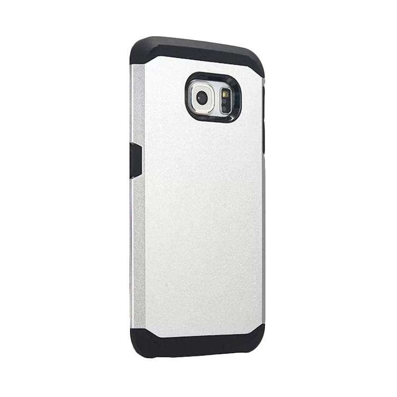 Spigen SGP Slim Armor Casing for Samsung Galaxy S6 Edge - Silver