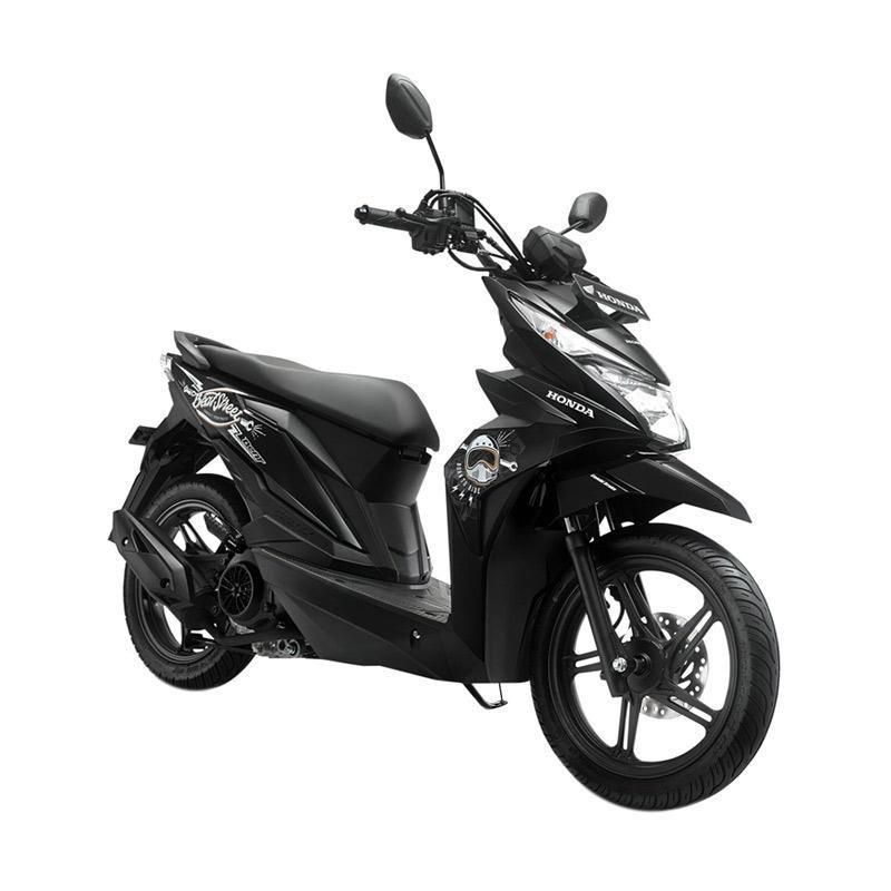 harga Honda All New BeAT eSP FI Street Sepeda Motor Matic - Black [OTR Bandung] Blibli.com
