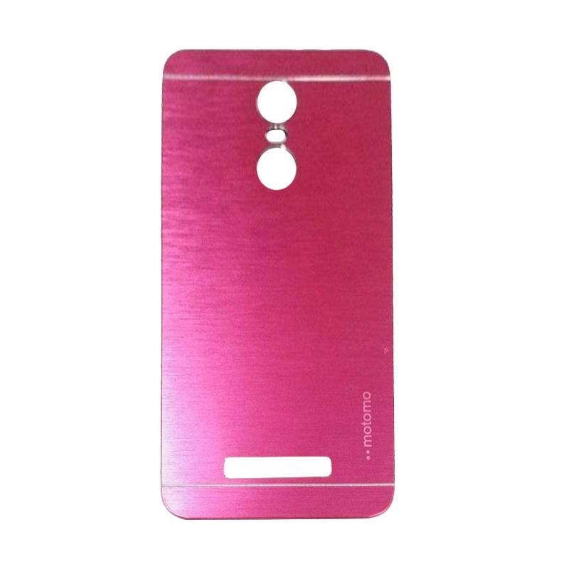 Motomo Metal Backcase Hardcase Casing for Xiaomi Redmi Note 3 - Pink