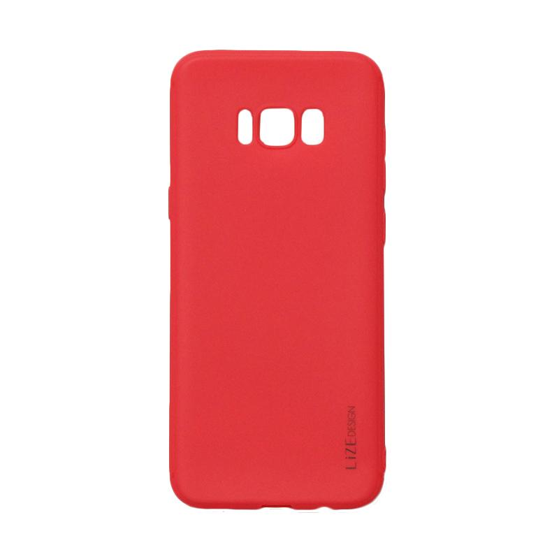 Lize Candy Case Style Softshell Softcase Casing for Samsung Galaxy S8 Plus - Red