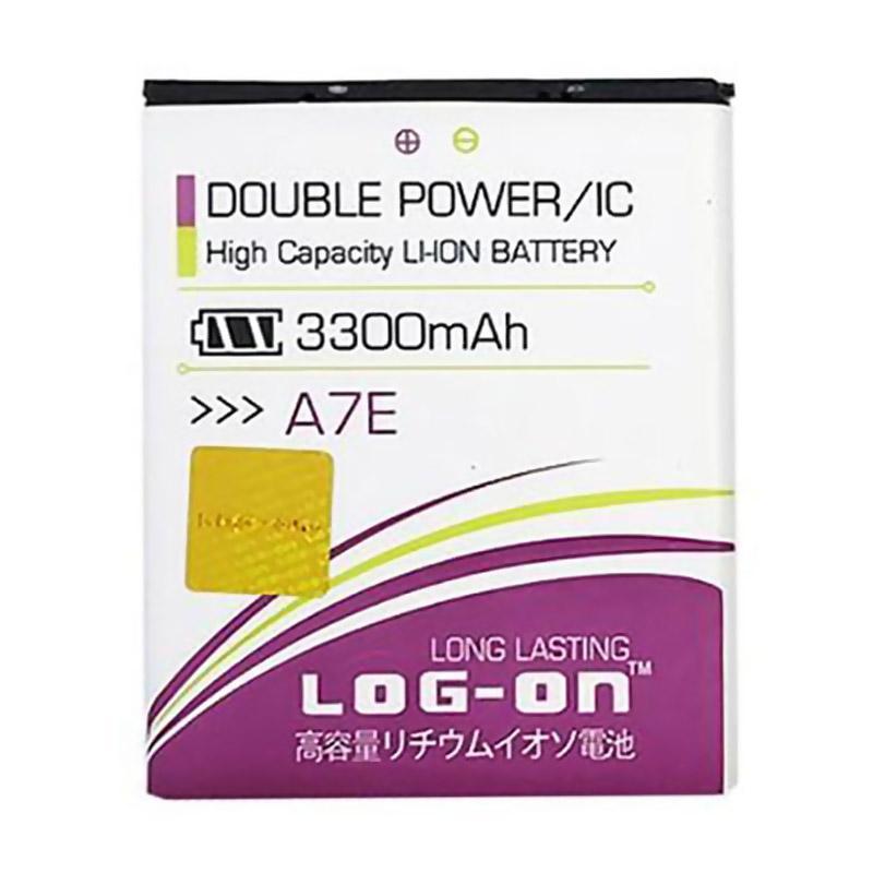 Jual Log On Double Power and IC Battery for Evercoss A7E 3300 mAh Garansi 6 Bulan