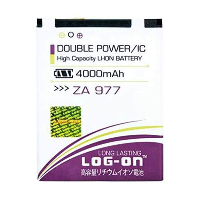 Jual Log On Battery Double Power and IC for Himax Polymer 2 [3800mAh/Garansi