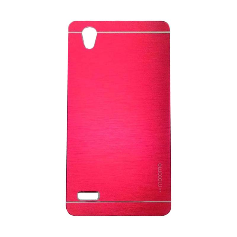 Motomo Metal Hardcase Backcase Casing for Oppo Mirror 5 or A51T - Red