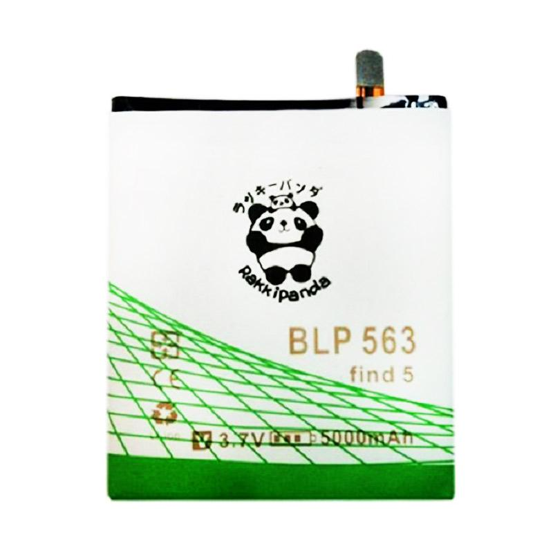 RAKKIPANDA Double Power and IC Battery for OPPO Find 5 Mini BLP563